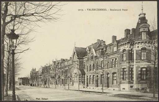Valenciennes. Boulevard Pater